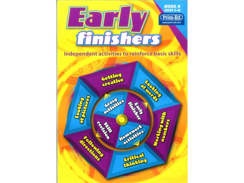 Early Finishers - Independent Activities To Reinforce Basic Skills - Book A