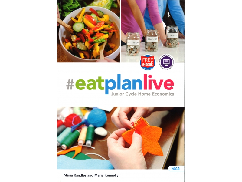 EatPlanLive Pack - Textbook & Workbook - Junior Cycle Home Economics - Includes Free eBook