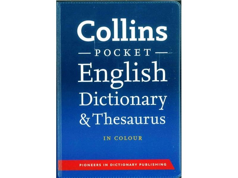Collins English Pocket Dictionary & Thesaurus