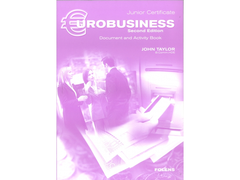 Eurobusiness Workbook 3nd Edition - Junior Certificate Business Studies