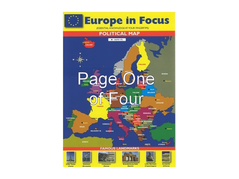 Europe In Focus! Glance Card
