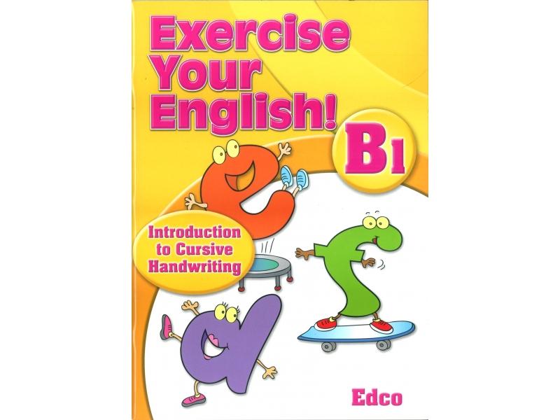 Exercise Your English B1 - Introduction To Cursive Handwriting - Senior Infants