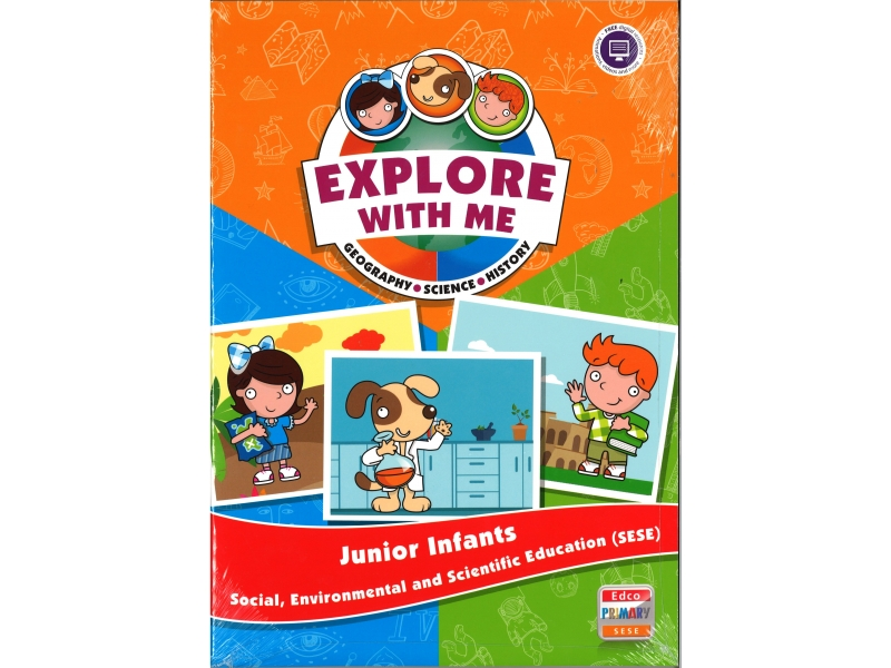 Explore With Me SESE - Junior Infants