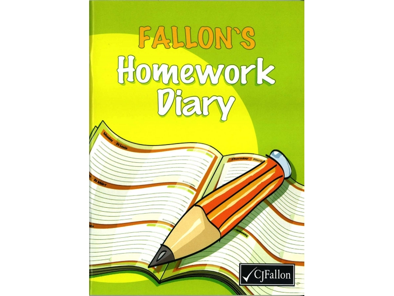 Fallon's Primary Homework Diary / Journal