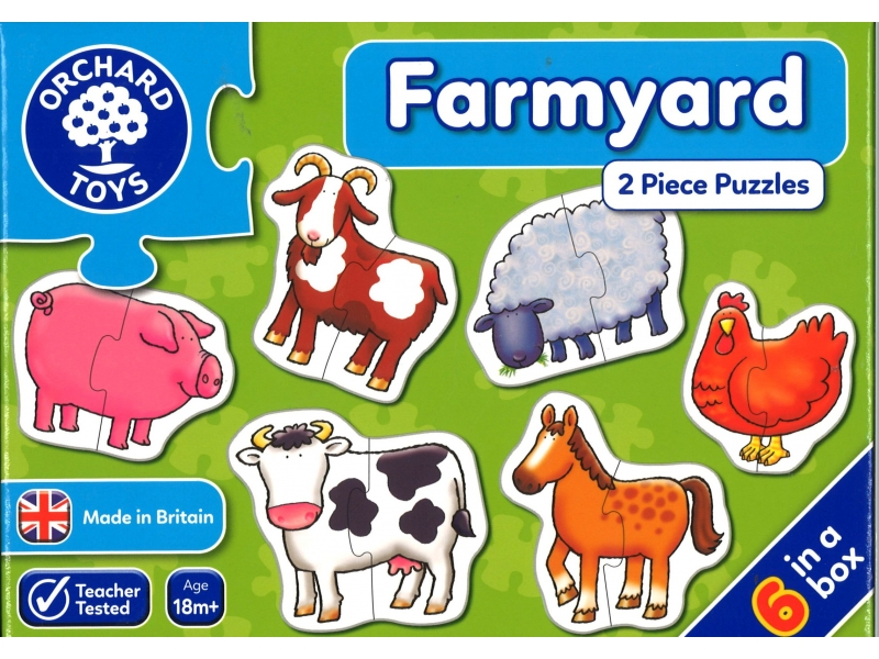 Farmyard jigsaws