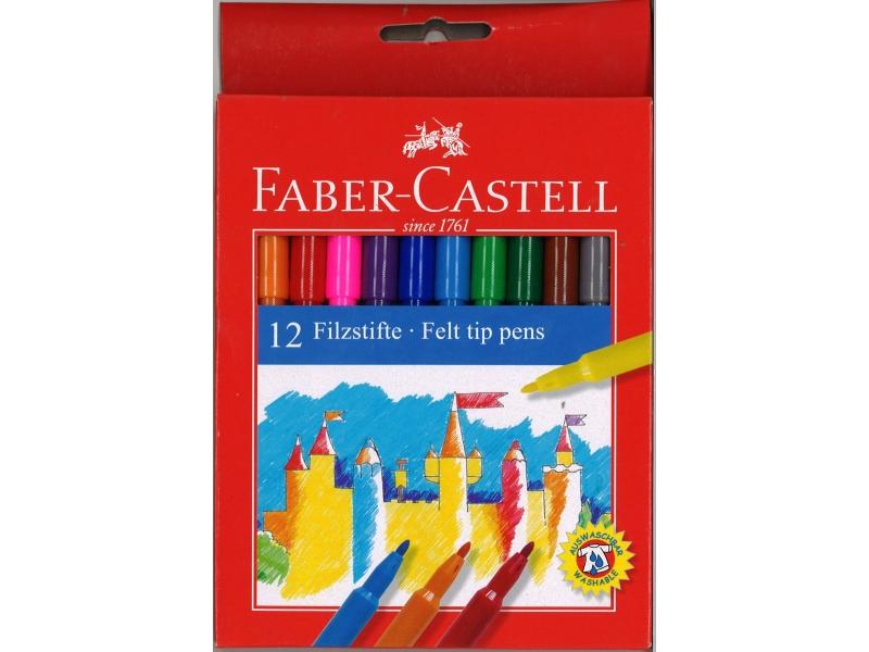 Faber-Castell Felt Tip Pens 12 Pack