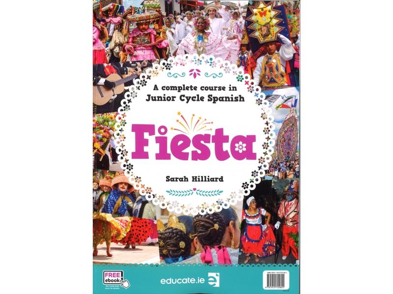 Fiesta - Spanish - Textbook & Workbook - Junior Cycle
