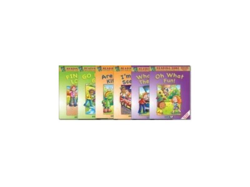 Reading Zone Senior Infants Supplementary Reading Books