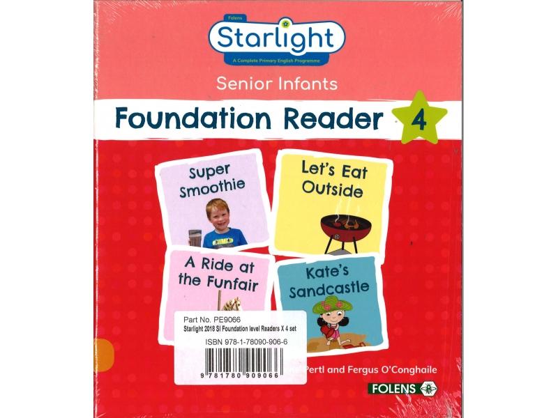 Foundation Readers Four Pack - Starlight Senior Infants