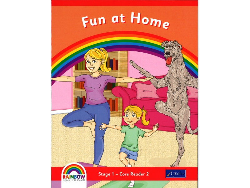 Fun At Home - Core Reader 2 - Rainbow Stage 1 - Junior Infants