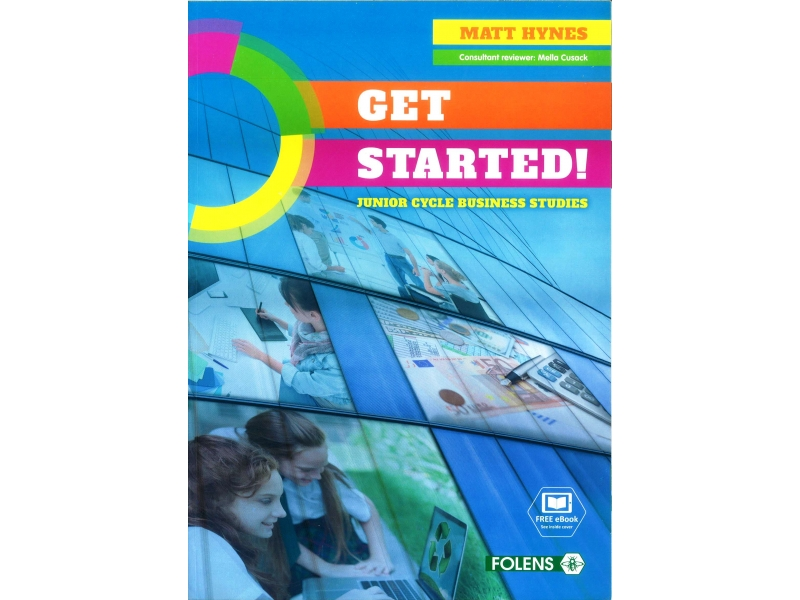 Get Started Pack - Textbook & Student Activity Book - Junior Cycle Business Studies - Includes Free eBook