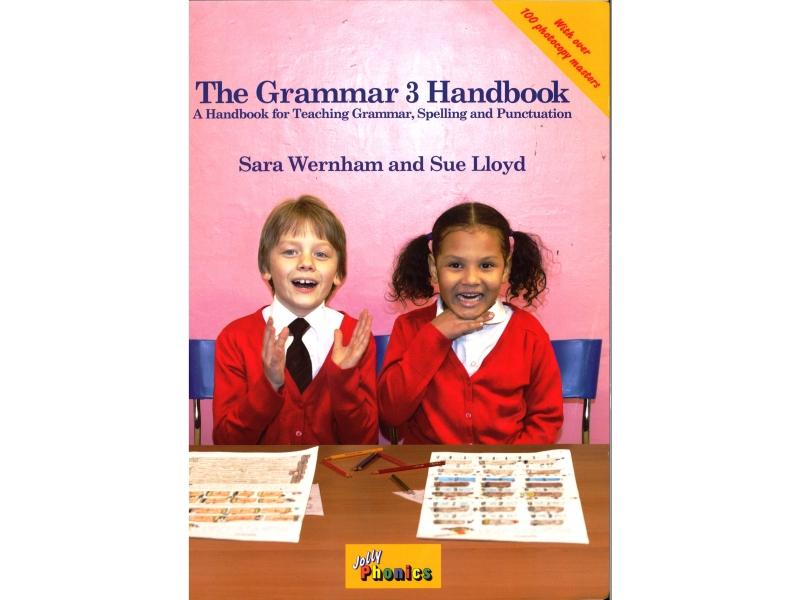 The Grammar 3 Handbook - Jolly Phonics