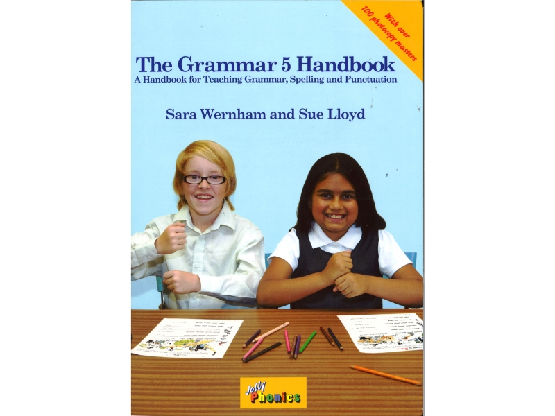 The Grammar 5 Handbook - Jolly Phonics