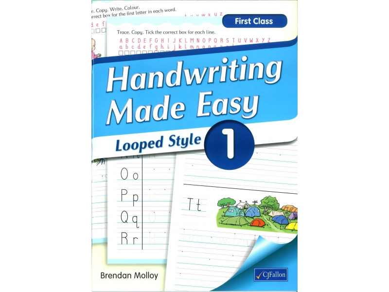 Handwriting Made Easy 1 - Looped Style - First Class