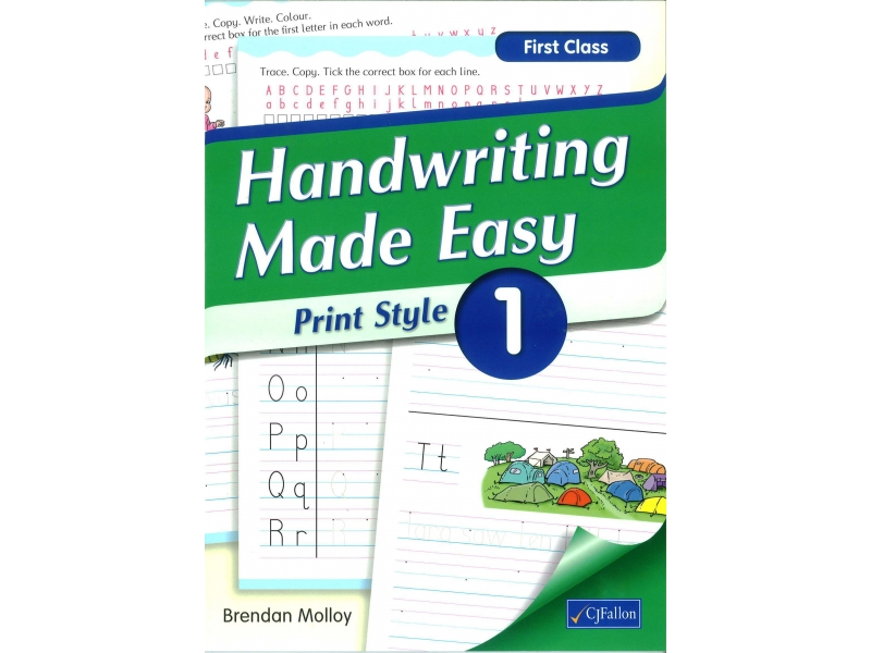 Handwriting Made Easy 1 - Print Style - First Class