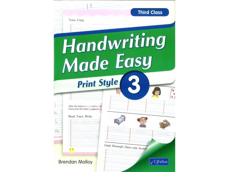 Handwriting Made Easy 3 - Print Style - Third Class