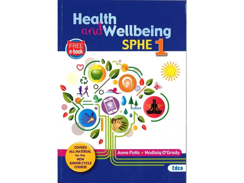 Health & Wellbeing SPHE 1 - Junior Cycle SPHE - Includes Free eBook