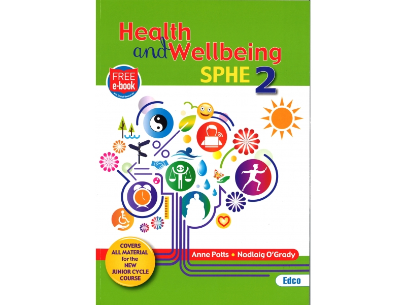 Health & Wellbeing SPHE 2 - Junior Cycle SPHE - Includes Free eBook