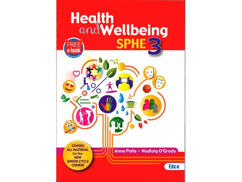 Health & Wellbeing SPHE 3 - Junior Cycle SPHE - Includes Free eBook