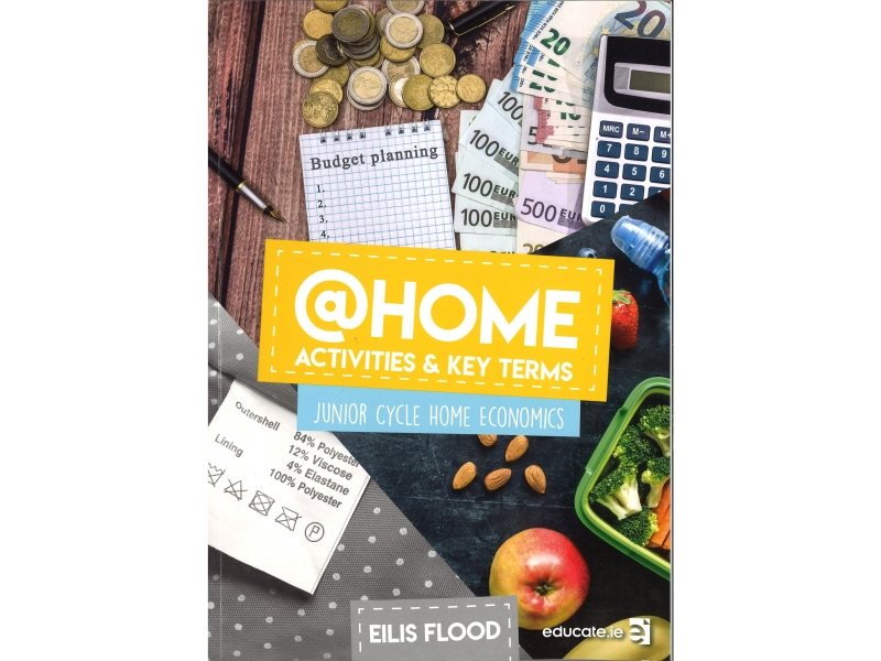 @Home Activities & Key Terms - Junior Cycle Home Economics