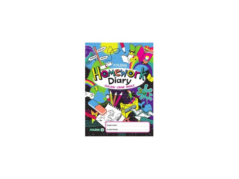 Folens New Primary Student  Homework Diary