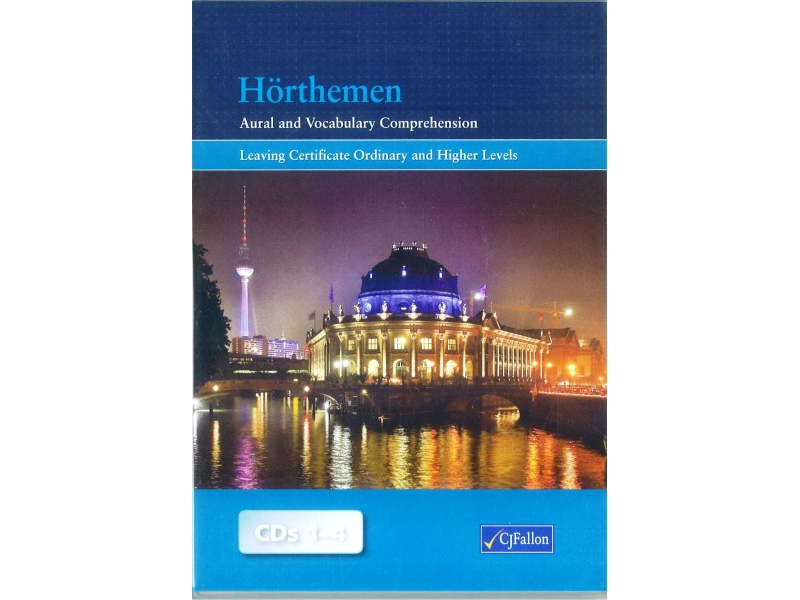 Hörthemen Cd's - Aural & Vocabulary Comprehension - German for Leaving  Certificate Level
