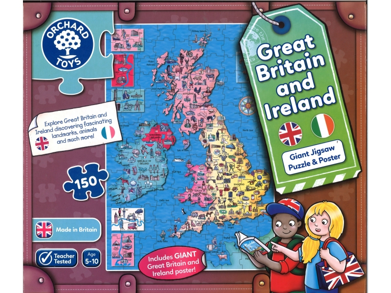 Great Britain & Ireland jigsaw