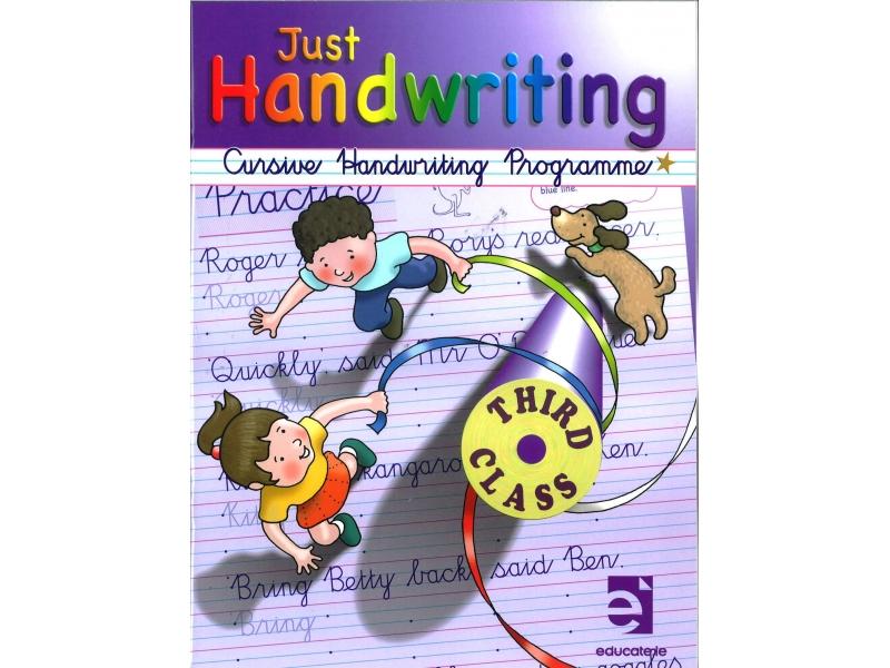 Just Handwriting: Cursive Handwriting Programme - Third Class