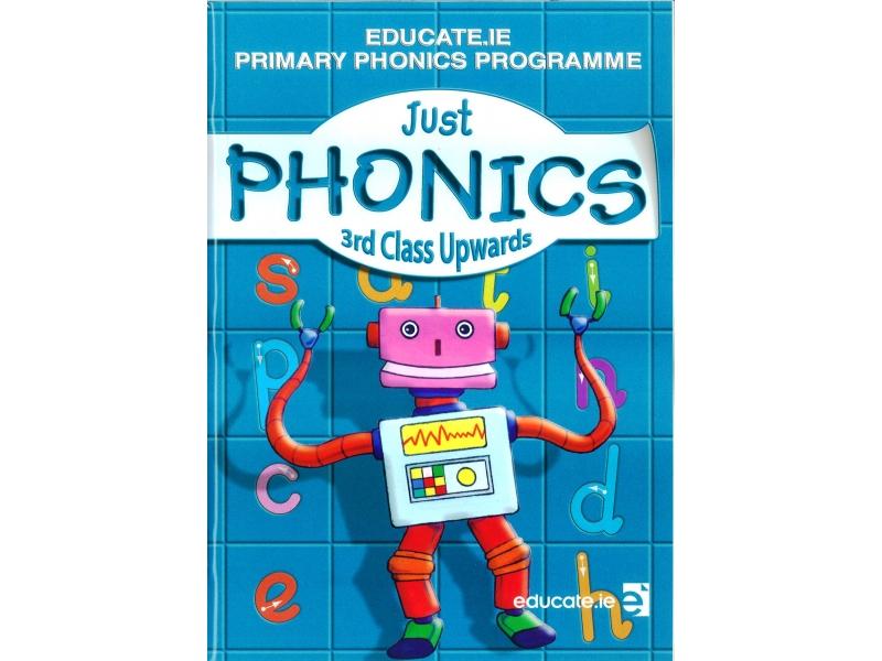 Just Phonics 3rd Class Pack - Workbook & My Spelling Booklet - Third Class