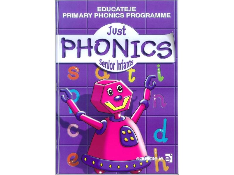 Just Phonics Senior Infants Pack - Workbook & Sounds Booklet