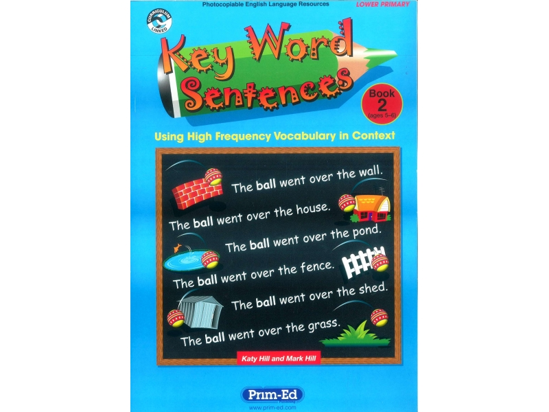 Key Word Sentences Book 2 - Ages 5-6