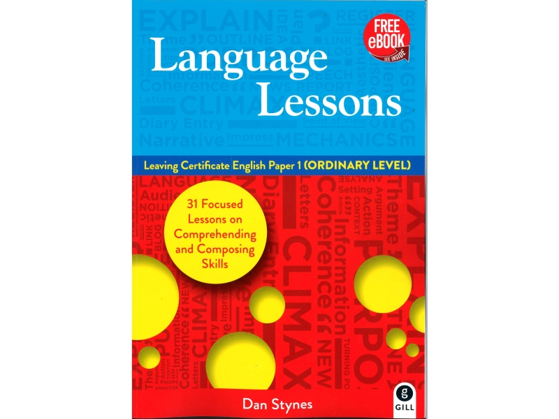Language Lessons - Leaving Certificate English Paper 1 (Ordinary Level) - Free eBook