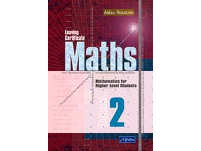 Leaving Certificate Maths Volume 2 Higher Level