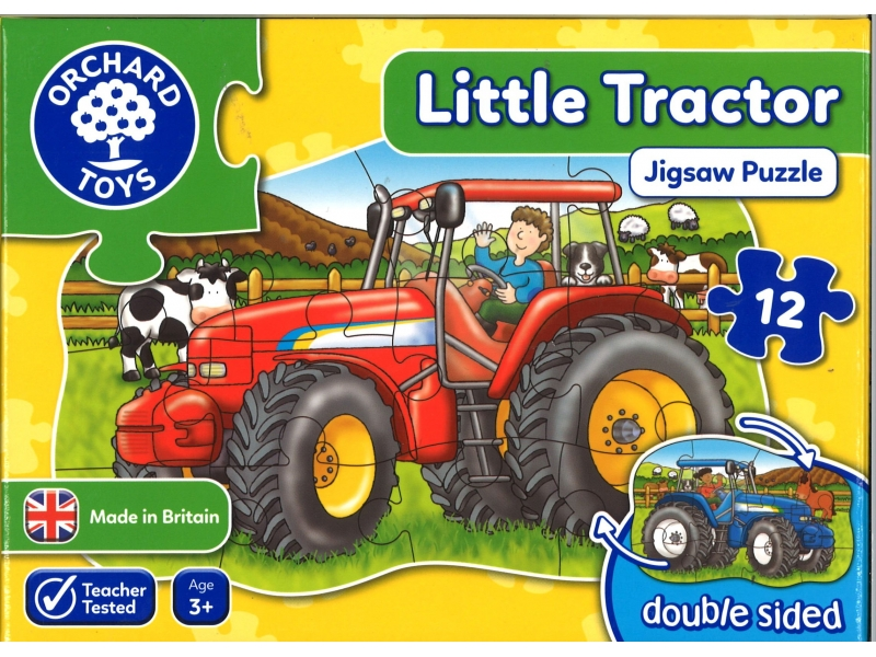 Little Tractor Jigsaw