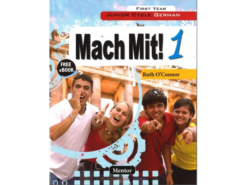 Mach Mit! 1 Junior Cycle German Includes Free eBook