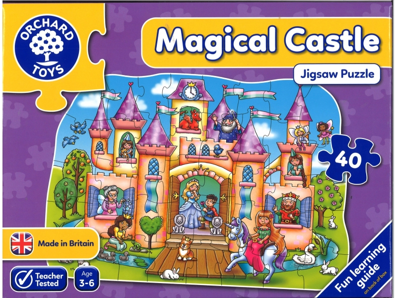 Magical castle jigsaw