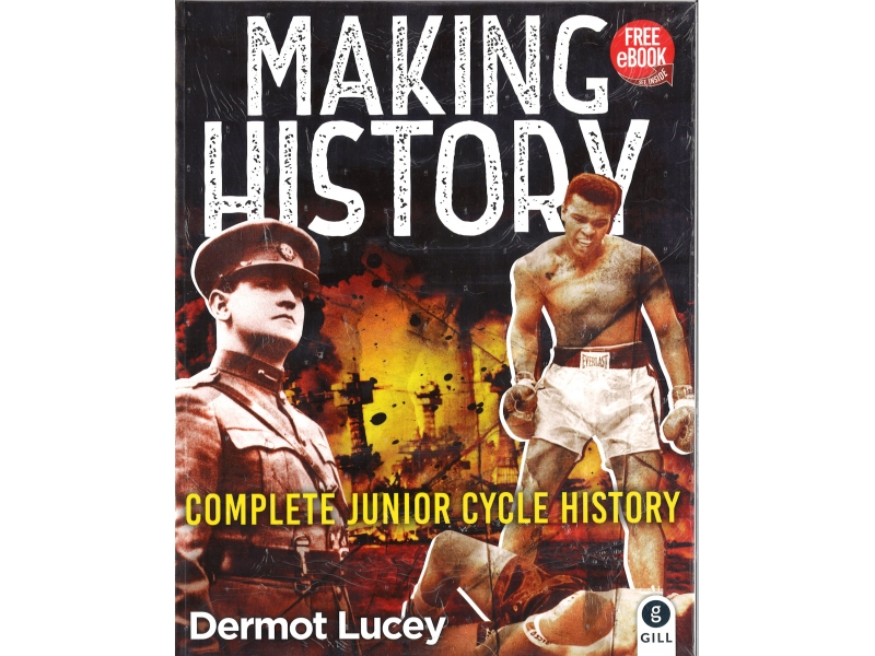 Making History Pack - Textbook & Skills Book - Complete Junior Cycle History - Includes Free eBook