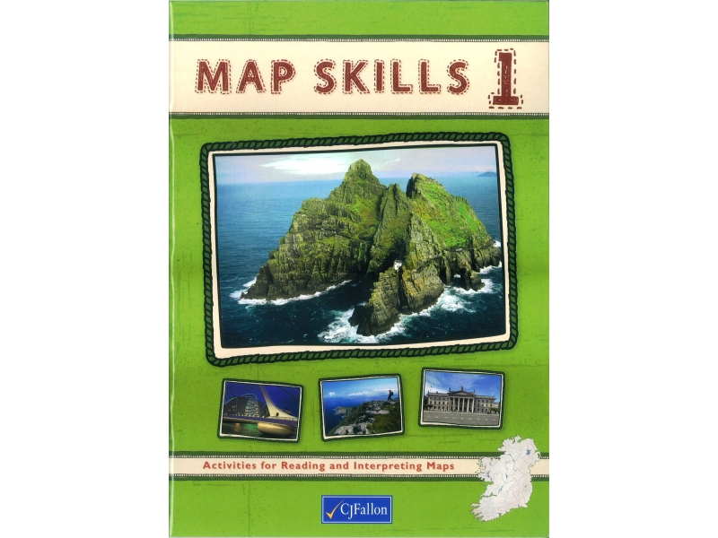 Map Skills 1 Pack - Workbook & Assessment Book - Fifth & Sixth Class