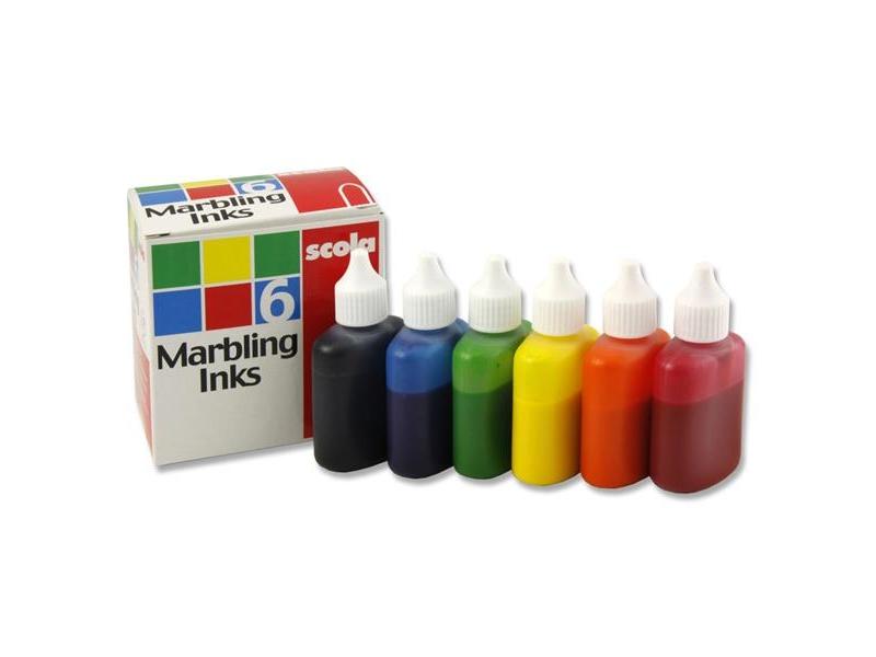 Marbeling inks 6 pack