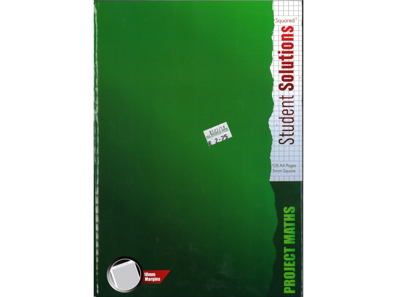 Hardback Project Maths A4 Copy