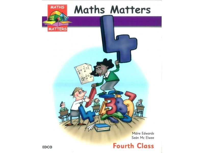 Maths Matters 4 - Pupil's Book - Fourth Class