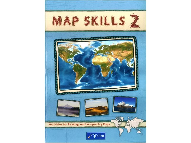 Map Skills 2 Pack - Workbook & Assessment Book - Fifth & Sixth Class