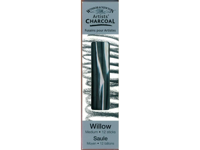 Charcoal Willow Medium 24 Sticks
