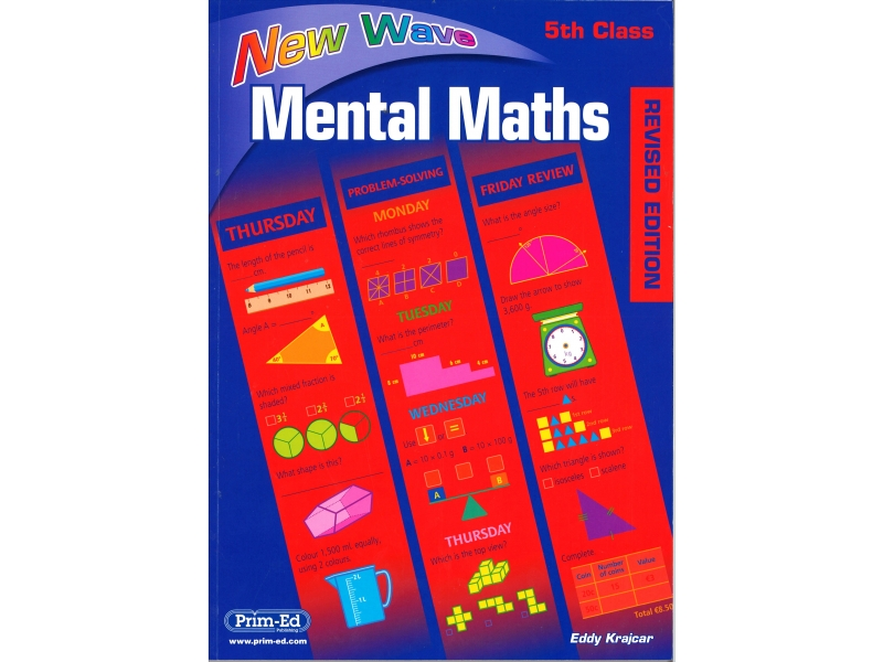 New Wave Mental Maths - Fifth Class - Revised Editon