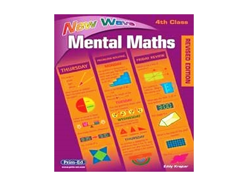 New Wave Mental Maths Fourth Class - Revised edition