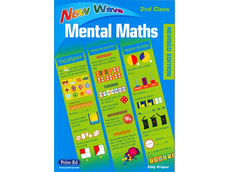 New Wave Mental Maths Second Class - Revised edition