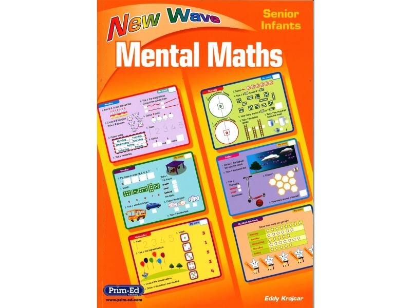 New Wave Mental Maths Senior Infants - Revised edition