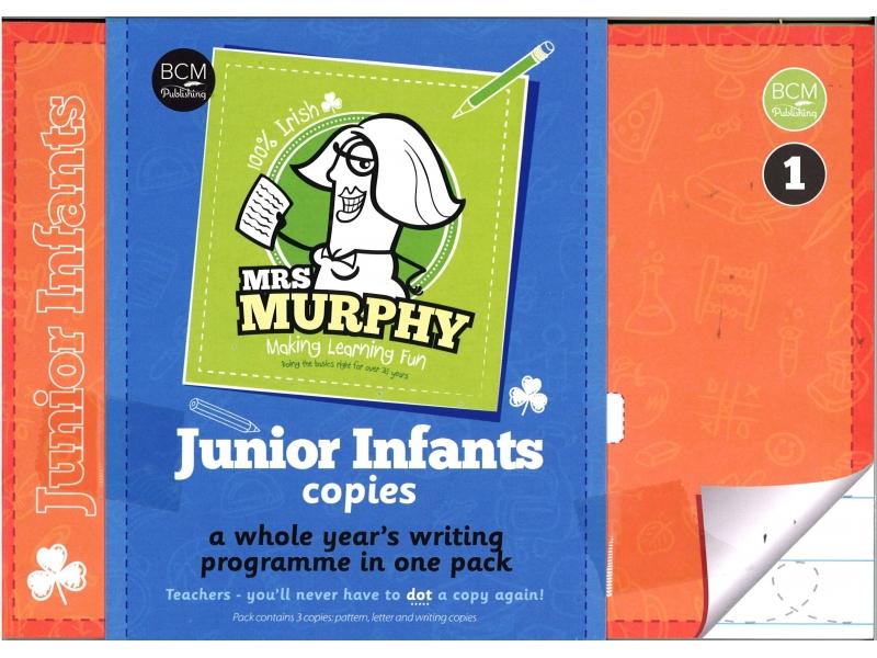 Mrs Murphy - Junior Infants Copies