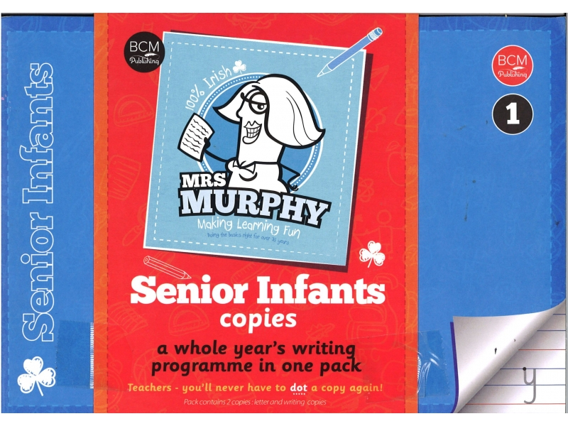Mrs Murphy - Senior Infants Copies