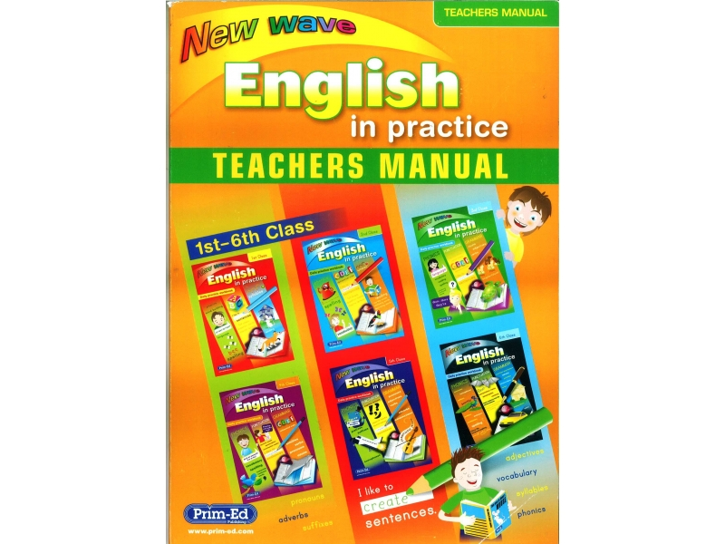 New wave English In Practice Teachers Manual